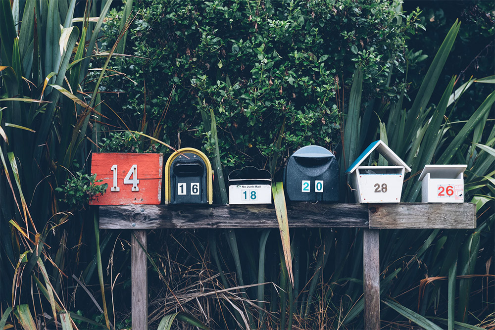 what to do with mail sent to previous tenant